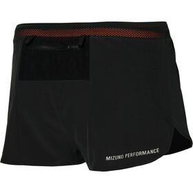Mizuno Aero Split 1.5 Shorts Herrer, sort